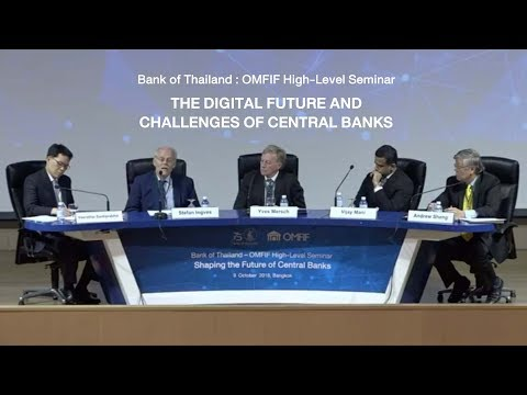 OMFIF SEMINAR : THE DIGITAL FUTURE AND CHALLENGES OF CENTRAL