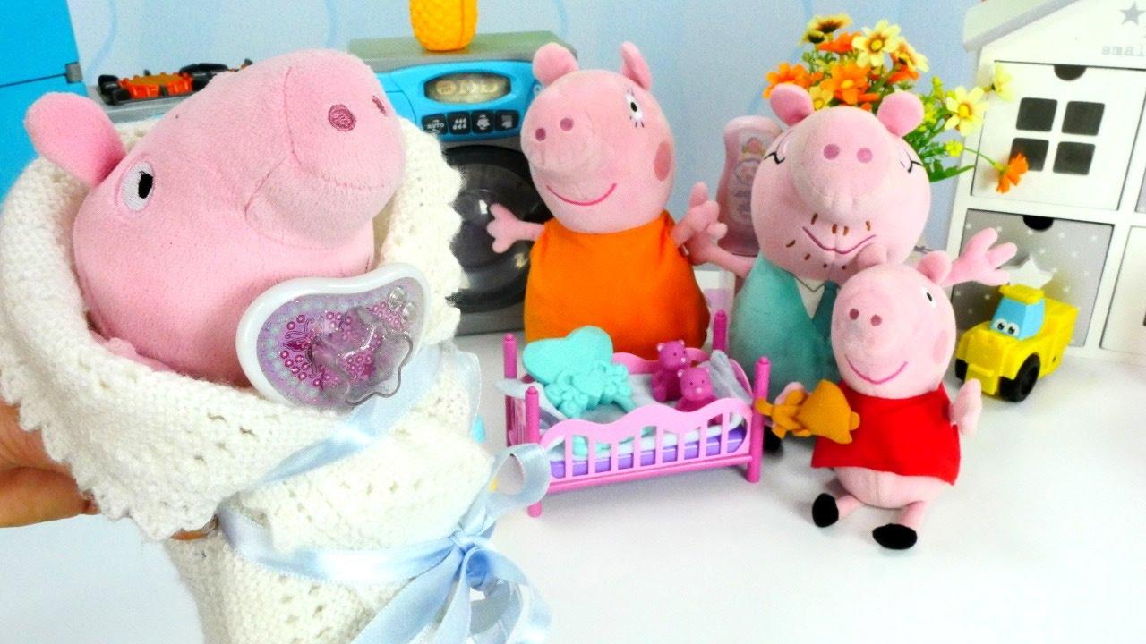 Свинка пеппа игрушки видео смотреть на русском языке без перерыва