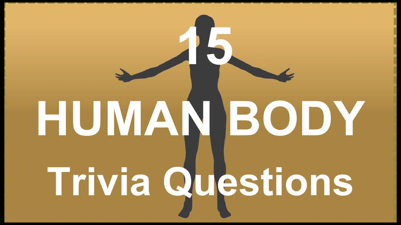 15 Human Body Trivia Questions 4 Youtube