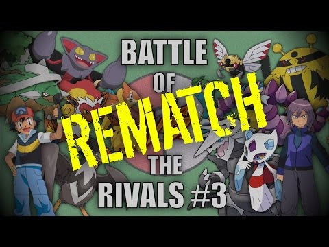 Battle of the Rivals #3 (Ash vs Paul) REMATCH! - Pokemon Battle Revolution (1080p 60fps)