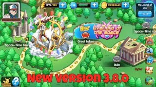 Master Of Monsters - New Update 3.8.0 || Arceus Adventure (Hard Mode),New Mega And New Pokémon!!