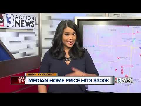 Median home prices in Las Vegas up to $300K