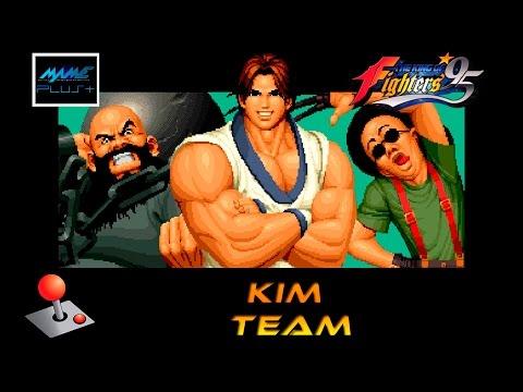 KOF 95 Arcade - Kim Team