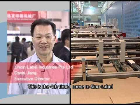Printing South China / Sino Label 2011 - Onsite Video (long version) (640)