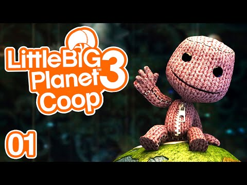 Little Big Planet 3 | Ep.01 - Let's Play Coop
