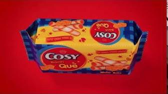 Giòn tan bánh quế Cosy phô mai