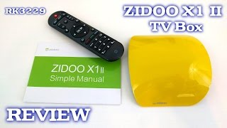 zidoo x1 ii tv box review rk3229 1gb ram 8gb rom android 4 4