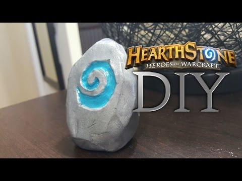 Gaming DIY – Hearthstone Paperweight