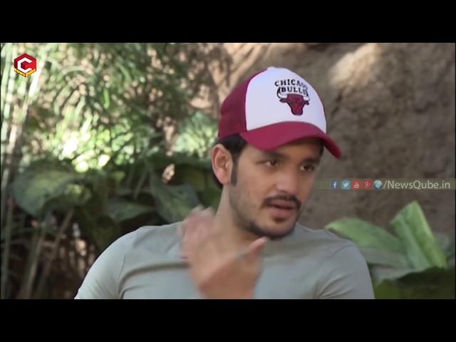 Akhil Makes FUN of Kalyani Priyadarshan | #Hello Movie Team INTERVIEW | Vikram Kumar | NewsQube
