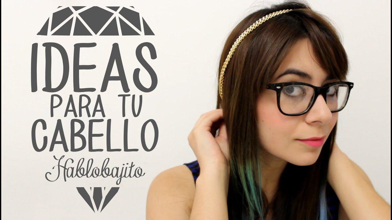 2 ideas para decorar tu cabello con accesorios regreso a - Como hacer adornos para el pelo ...