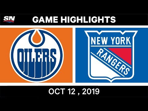 NHL Highlights   Oilers Vs Rangers - Oct 12th 2019