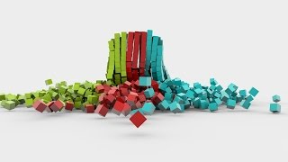 Cinema 4D Tutorial  | How to create a basic dynamic with cubes