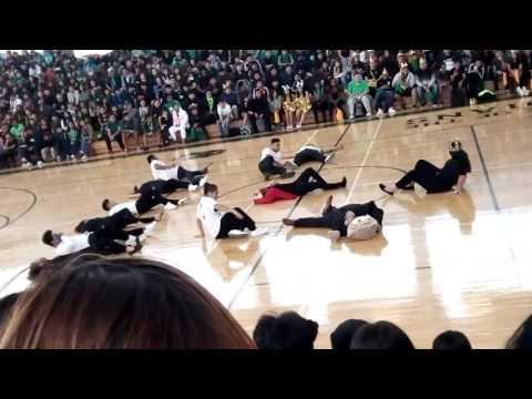 Cross keys high school  pep rally