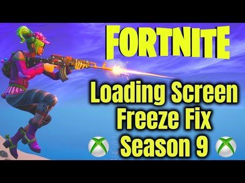 Fortnite Loading Screen Freeze Fix (Season 9) *XBOX*