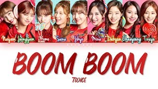 How Would TWICE Sing 'BOOM BOOM' by MOMOLAND (Eng/Rom/Han) (FANMADE)
