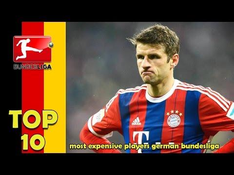 Top 10 most expensive players German Bundesliga [2016]