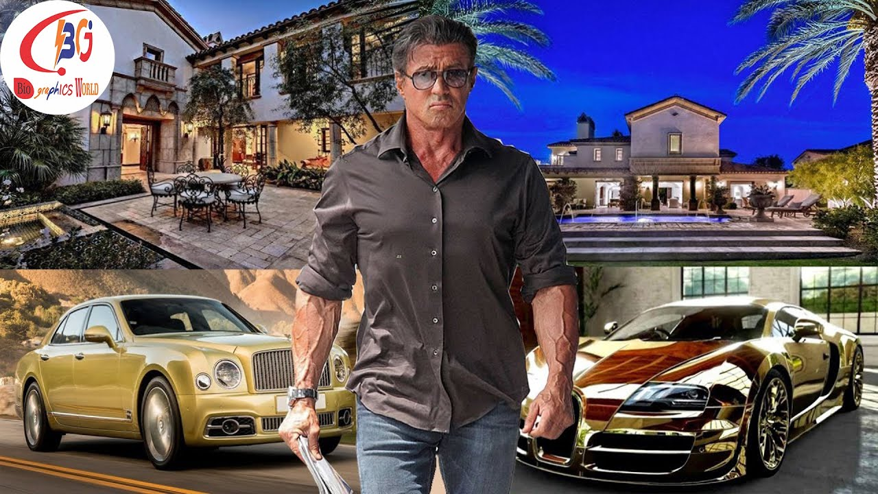 Sylvester Stallone Biography, Lifestyle, Girlfriend, Net ...