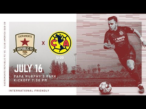 Sacramento Republic FC Vs. Club America SUB-20
