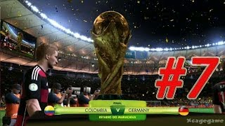 2014 FIFA World Cup - Walkthrough Gameplay Part 7 - FINAL   -  Colombia vs Germany  [ HD ]