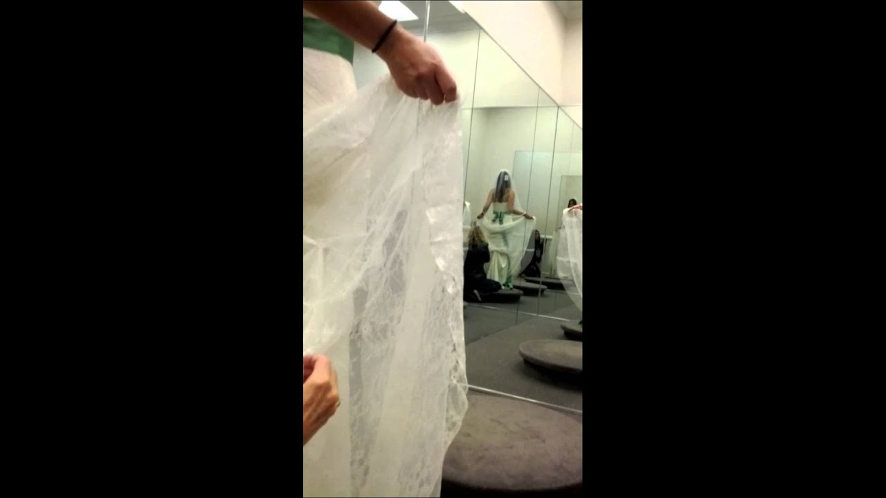 Under Bustle For My Wedding Dress