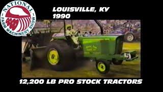1990 NFMS Louisville, KY 12,200 Pro Stock Tractors