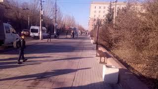 Волгоград 1 апреля, танки НАТО не пройдут!