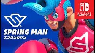 แนะนำตัวละคร และความสามารถ ARMS  [Spring man]