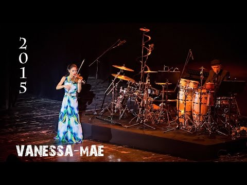 Vanessa-Mae, concert at Crocus City Hall [12.12.2015]