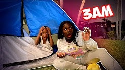 DO NOT CAMP AT 3AM!! *SO SCARY*
