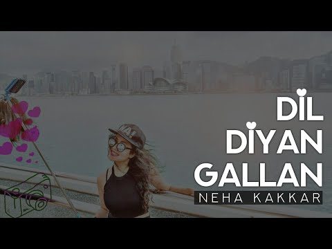 Neha Kakkar - Dil Diyan Gallan   SHABD Music   FanMade Video   Atif Aslam   Salman Khan   Katrina