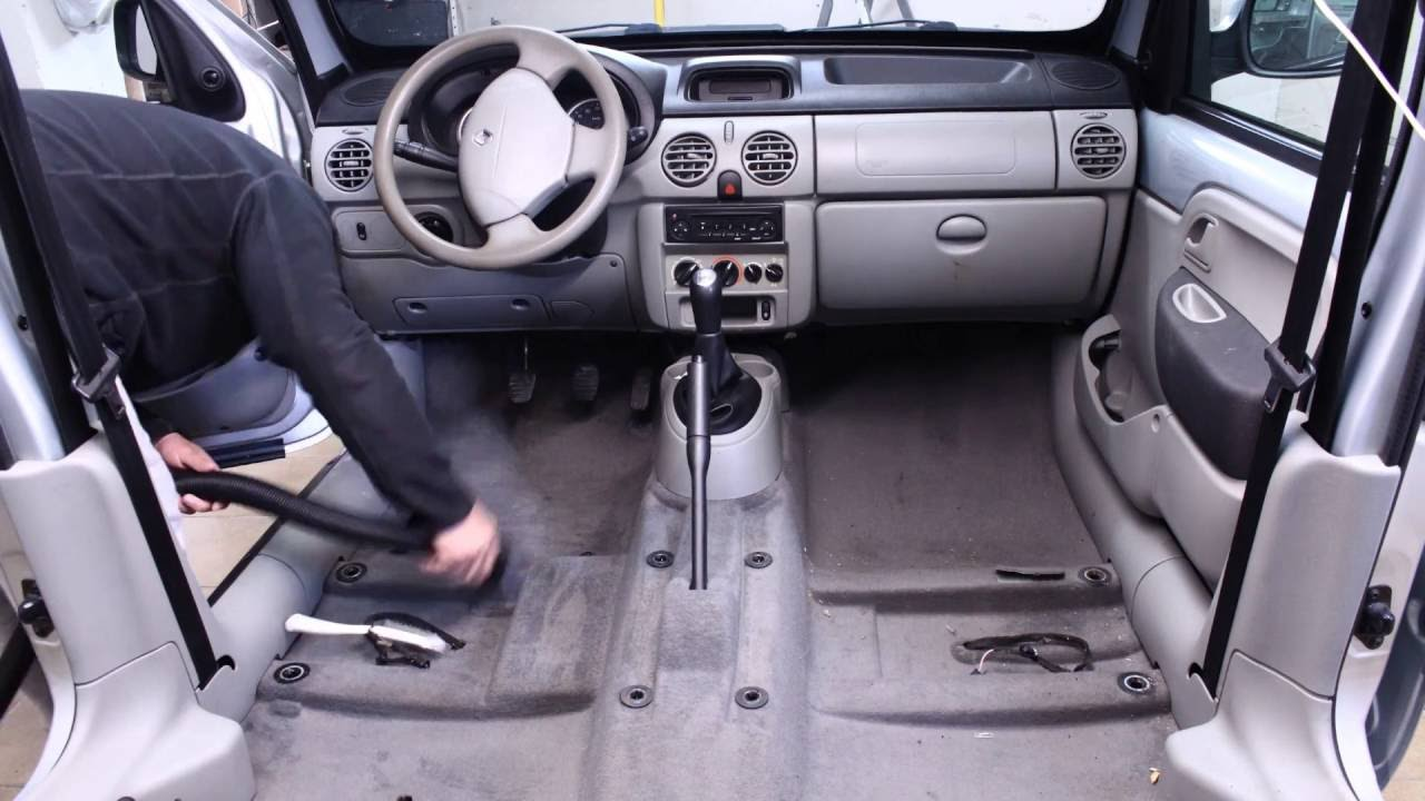 how to clean car interior renault kangoo interior cleaning timelapse youtube. Black Bedroom Furniture Sets. Home Design Ideas