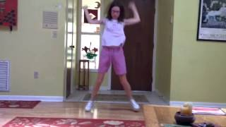 Maggie Flint dancing to Worth It for Ellen DeGeneres.