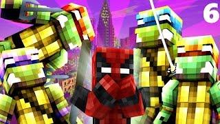 Deadpool vs TMNT: Teenage Mutant Ninja Turtles! (Minecraft Roleplay) S2E6