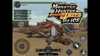 Monster Hunter Freedom Unite - [iOS][Android] - Game Trailer - Appgame.in.th