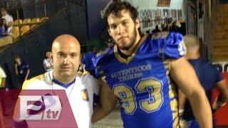 Mexicano participará en campamento regional de la NFL/ Rigoberto Plascencia