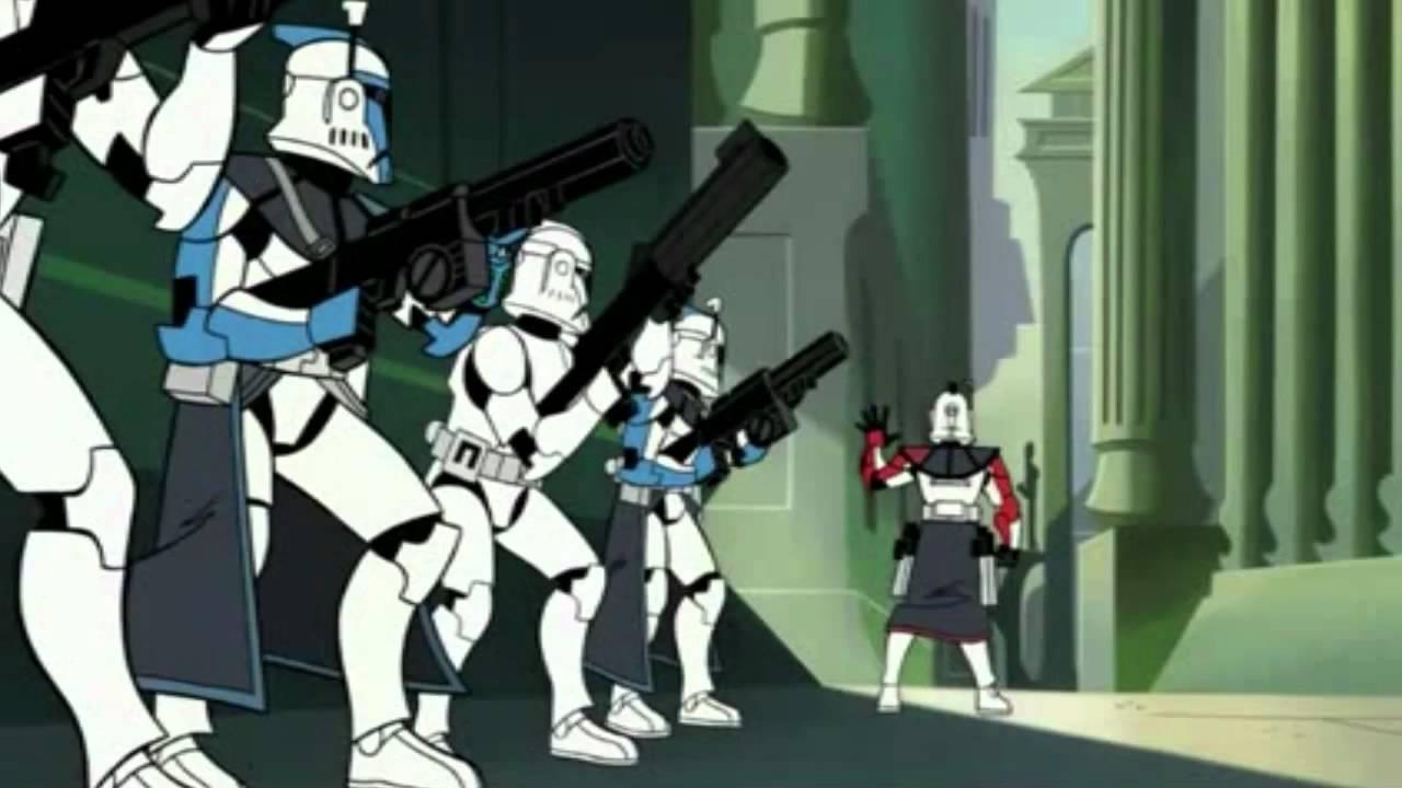 ARC Trooper 2003 Star Wars The Clone Wars Animated TCW Cartoon Network