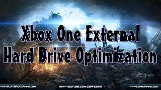 Xbox One External Hard Drive Optimization