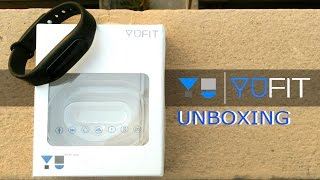 unboxing yu fit band