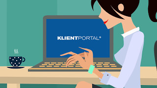 Klientportal -kortversion