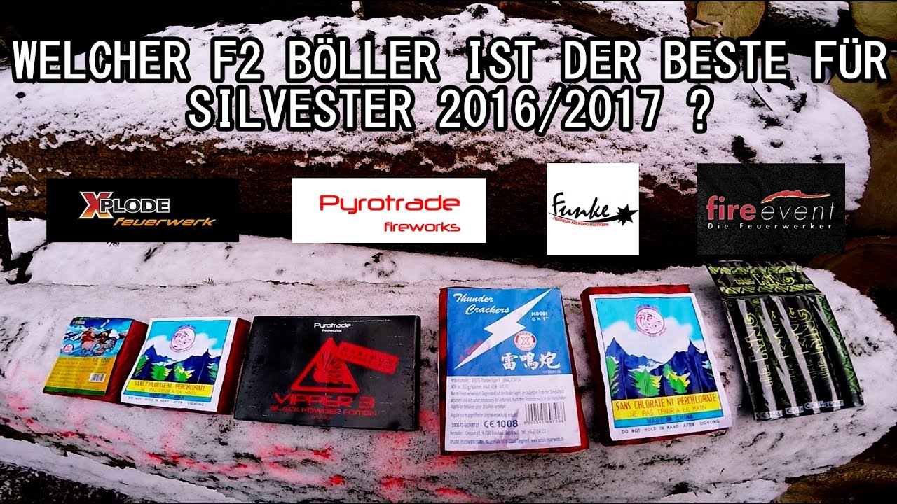 welcher f2 b ller ist der beste f r silvester 2016 2017 youtube. Black Bedroom Furniture Sets. Home Design Ideas