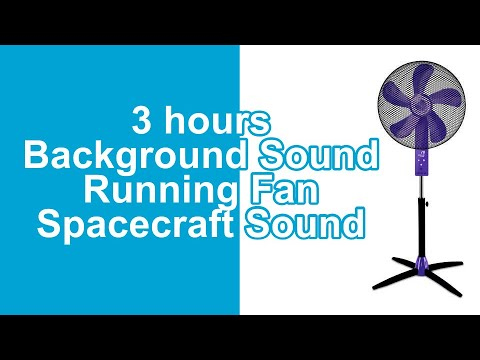 3 Hours Background Sound Running Fan