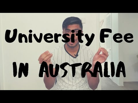Middle Class Students University Fee In Australia