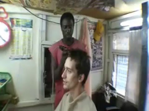 Barbershop in Accra