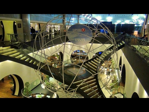 World's most crazy, over the top airport lounge - Istanbul