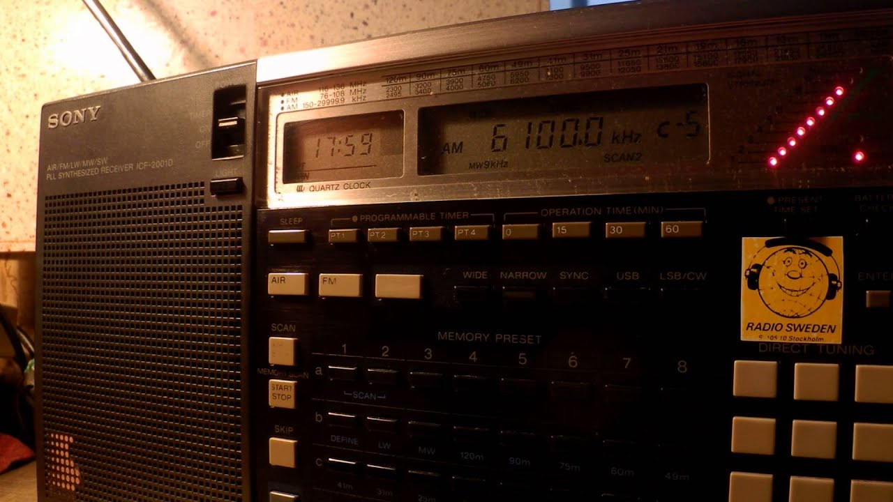 30 06 2015 Final day on shortwave, International Radio Serbia-Interval  Signal 1759 on 6100 Bijeljina
