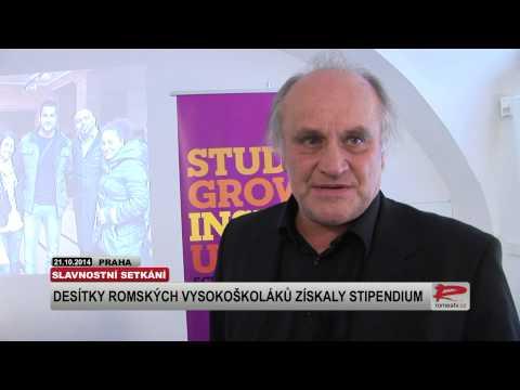 Michael Kocáb k romským vysokoškolákům: Vzdělání může zvrátit nepříznivý osud