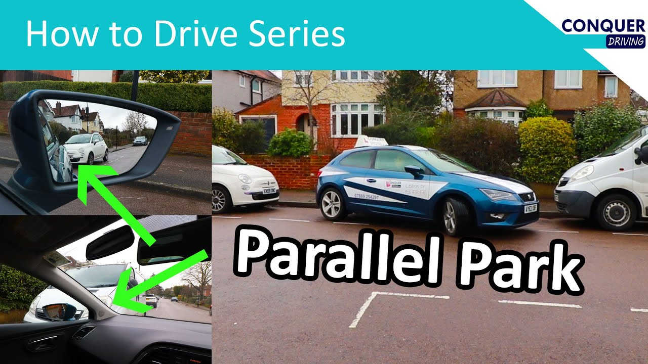 How to reverse parallel park in a tight space - 4 easy steps and how to correct