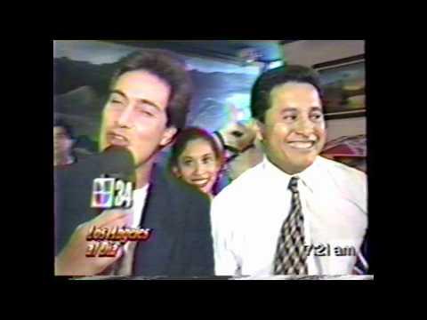 LOS ANGELES AL DIA-- HACE 20 AÑOS , CANAL 34 TV.