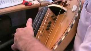 Remote String Controls for Hurdy-gurdy