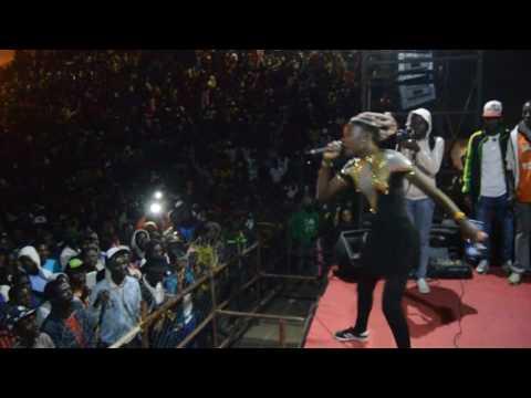Empress massina live at Kinnah birthday bash 2017